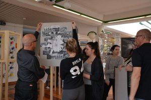 """Kunstprojekt """"Licht im Dunkeln"""" von ARTirol und BFW+AL am 1. Juni 2018 in Wörgl - Präsentation am 17.5.2018. Foto: Veronika Spielbichler"""