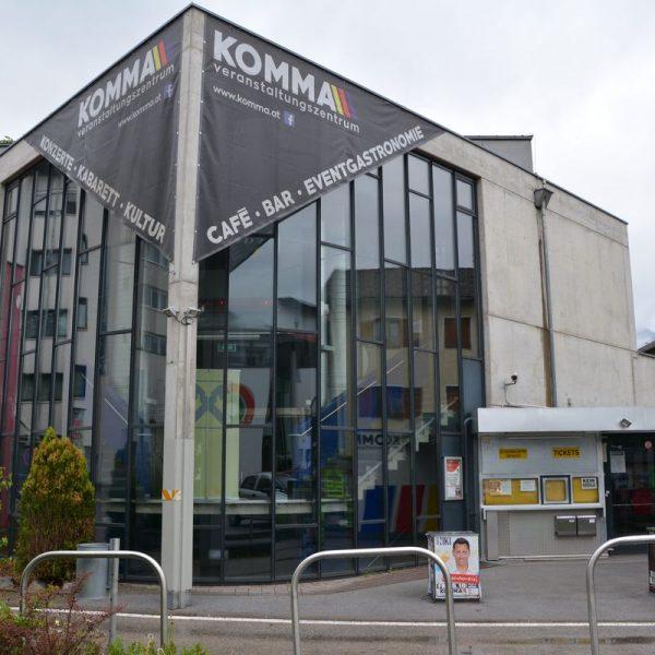 Pressekonferenz Komma-Umbau 2018 am 16. Mai 2018. Foto: Veronika Spielbichler