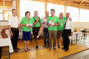 Stockclub Bruckhäusl - Dorfmeisterschaft 2018. Foto. Wilhelm Maier