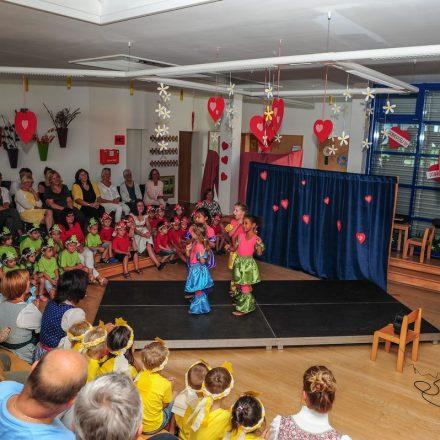 Am 21. Juni 2018 wurde im Kindergarten Grömerweg das 25-Jahr-Jubiläum gefeiert. Foto: Hubert Berger