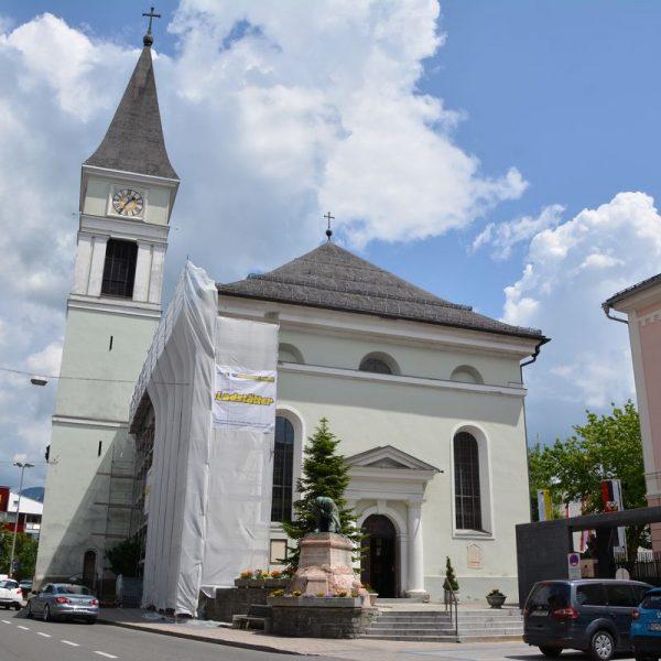 Kirchenrenovierung Wörgl Juni 2018. Foto: Veronika Spielbichler
