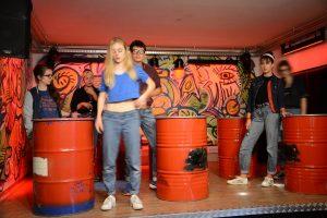 """Jugendtheater YA! Young Acting Probe zu """"Nicht. Was im Leben wichtig ist."""" in der Zone Wörgl. Foto: Veronika Spielbichler"""