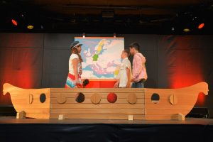 """Montessori Schule Wörgl - Theaterabend """"Salims Bilderreise"""" am 15. Juni 2018 im Komma Wörgl. Foto: Veronika Spielbichler"""