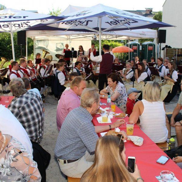 1. Wörgler Sommerfest in der Bahnhofstraße 20.6.2018. Foto: Wilhelm Maier