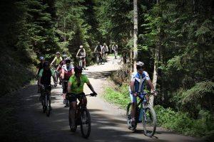 Am 3. Juni 2018 veranstalteten die Wörgler Naturfreunde ihre erste Radtour. Foto: Naturfreunde Wörgl
