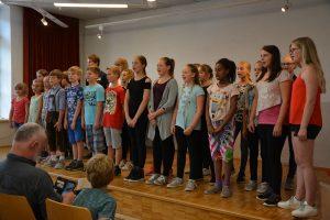 JUKI Workshop der Academia Vocalis 2018 - Abschlusskonzert 13.7.2018. Foto: Veronika Spielbichler