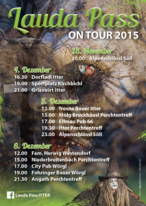 Tourplan Lauda-Pass Itter 2015.