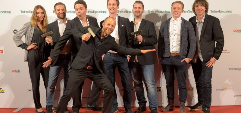 Wörgler Agentur styleflasher bei der Tirolissimo-Preisverleihung 2015.