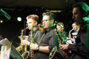 Big Band Wörgl Revival - v.l.Christian Lamm, Harald Ploner, Heini Lentsch