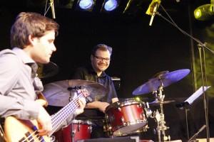Big Band Wörgl Revival - v.l. Peter Pitterl, Benny Hrdina.