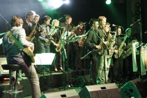 Big-Band Wörgl Revival & Groov´n Soda Soup am 21.11.2015 im Komma Wörgl.