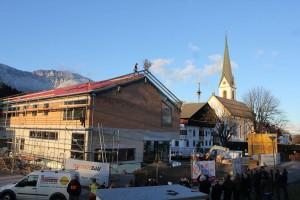 Firstgleiche beim neuen Angather Gemeindezentrum am 23.11.2015