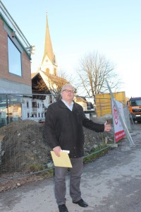 Angaths Bürgermeister Josef Haaser.