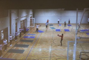 Herzsportgruppe Wörgl beim Turnen im Reha-Zentrum Bad Häring. Foto: Herzsportgruppe