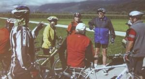 Herzsportgruppe Wörgl beim Radfahren. Foto: Herzsportgruppe