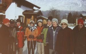 Herzsportgruppe Wörgl - Winterwanderung. Foto: Herzsportgruppe