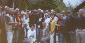 Herzsportgruppe Wörgl mit Reinhold Messner. Foto: Herzsportgruppe