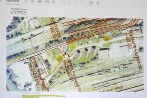 Wörgler Gemeinderat 5. November 2015 - neue Citybushaltestelle Ferdinand Raimund Straße