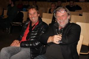 Wörgler Gemeinderat 5. November 2015 - Zuhörer Luggi Ascher und Architekt Markus Moritz