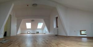 Dachbodenausbau Gasthof Bad Eisenstein. Foto: Christoph Eigentler