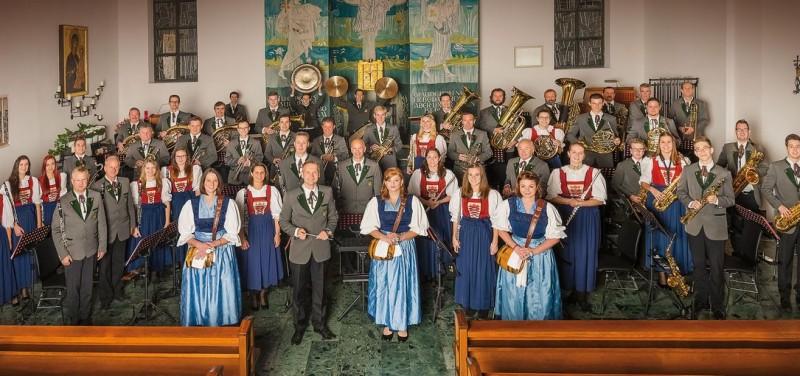 Die Bundesmusikkapelle Bruckhäusl gestaltet das Adventkonzert des Lions Club Wörgl. Foto: BMK Bruckhäusl/Mallaun