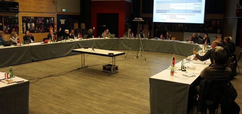 Budget-Beschlussfassung im Wörgler Gemeinderat am 10.12.2015