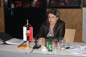 Bürgermeisterin Hedi Wechner.