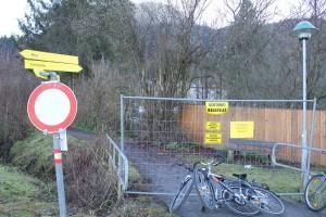 Bad Eisenstein - Weg wieder frei