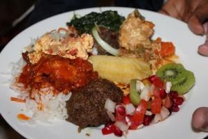 Gut gekocht - Nationalgerichte aus Afrika und Afghanistan.