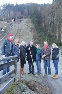 Baumpflanzaktion Team Wörgl - Dr. Andreas Taxacher