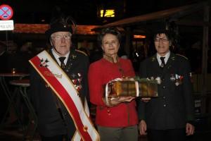 Gratulation vom Veteranenverein.