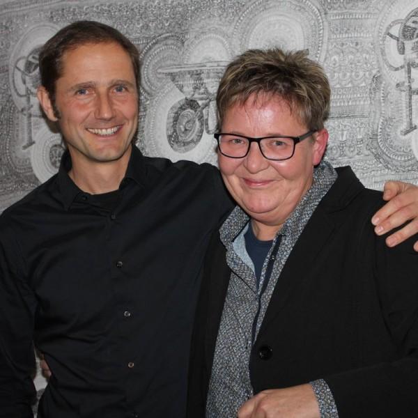 Martin Mallaun und Barbara Hundegger