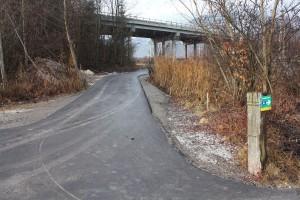 Die neu asphaltierte Radweg-Verbindung unter der Brücke des Autobahnzubringers Wörgl-West wurde im Dezember 2015 fertig.