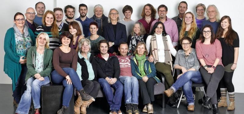 Die KandidatInnen der Wörgler Grünen für die Gemeinderatswahl 2016. Foto: Wörgler Grüne