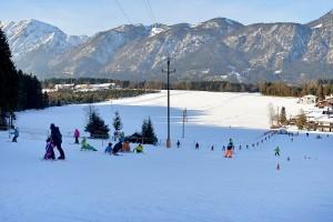 Skilift Pfaring Angerberg. Foto: TVB Ferienregion Hohe Salve