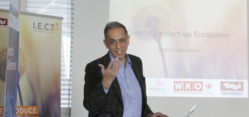 Dr. Shailendra Vyakarnam, Director of the Bettany Centre for Entrepreneuership at Cranfield