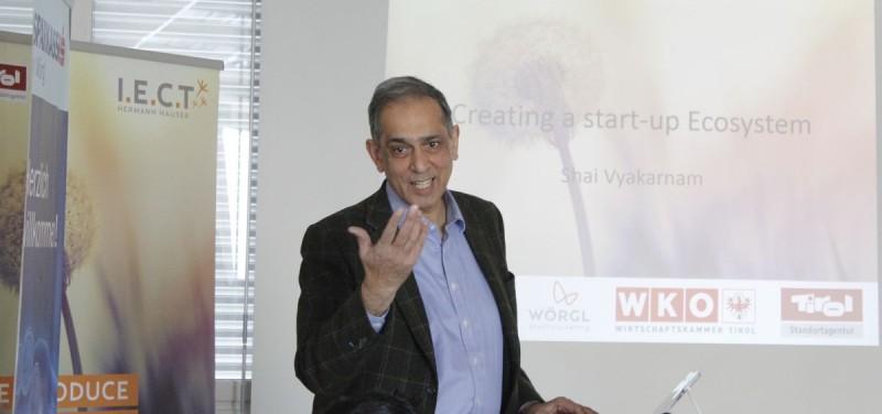 Dr. Shailendra Vyakarnam, Director of the Bettany Centre for Entrepreneuership at Cranfield