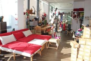 Im Wörgler GEA-Shop gibt´s auch die Waldviertler Betten und Möbel.
