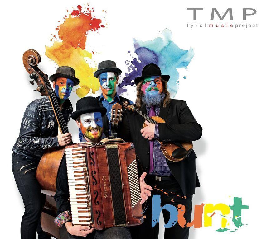 "Das Cover des Debütalbums ""Bunt"". Foto: Michelle Hirnsberger"