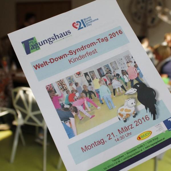 Welt Down Syndrom Tag 2016 im Tagungshaus Wörgl