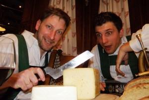 Das Duo Maultasch und Tiroler Kas. Foto: Privat