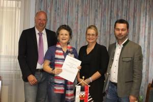 Arbeitsübereinkunft Liste Hedi Wechner und FWL Wörgl