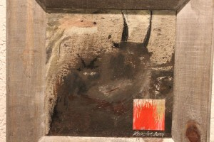 "Vernissage Reinhard Atzl ""dark earth - black stars"" 7.4.2016"