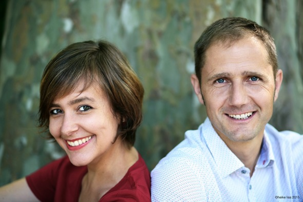 Viviane Chassot (Akkordeon) und Martin Mallaun (Zither). Foto: Kammermusikfest Hopfgarten