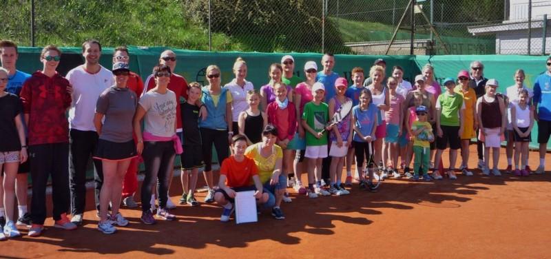 Der Tennisclub Wörgl veranstaltete erstmals eine Eltern-Kind-Olympiade. Foto: TC Wörgl