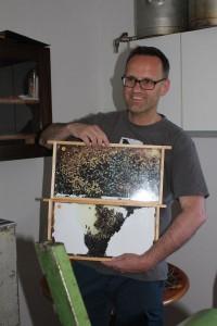 Tag des offenen Bienenstockes in Kirchbichl am 22.5.2016. Foto: Veronika Spielbichler