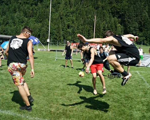 Die Lauda Pass Itter lädt wieder zum Völkerball-Turnier. Foto: Lauda Pass
