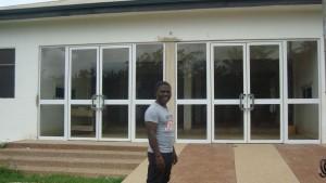 Hilfsprojekt grenzenlos helfen - Krankenstation Ntronang Ghana. Foto: privat
