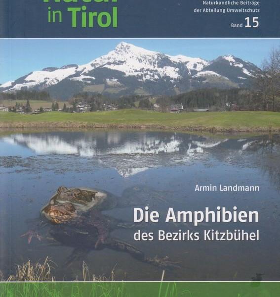 "Buchcover ""Die Amphibien des Bezirks Kitzbühel"". Foto: Landmann/Loner"