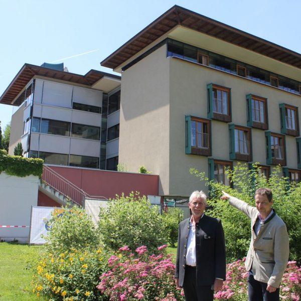 Spatenstichfeier für den Seniorenheim-Erweiterungsbau in Wörgl am 4.7.2016. Foto: Veronika Spielbichler